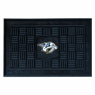 Nashville Predators Heavy Duty Vinyl Doormat