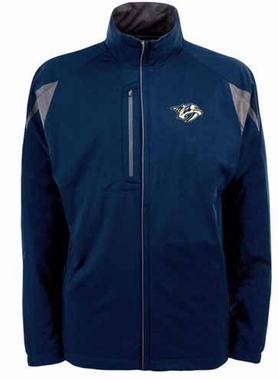 Nashville Predators Mens Highland Water Resistant Jacket (Team Color: Navy)