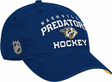 Nashville Predators Locker Room Team Slouch Adjustable Hat