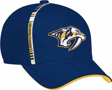 Nashville Predators NHL Structured Flex Hat - Large / X-LArge