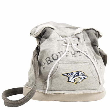 Nashville Predators Property of Hoody Duffle