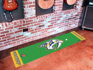 Nashville Predators Putting Green Mat