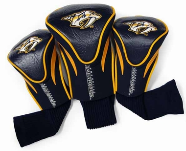 Nashville Predators Set of Three Contour Headcovers