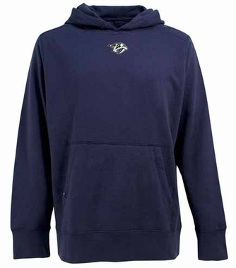 Nashville Predators Mens Signature Hooded Sweatshirt (Team Color: Navy)
