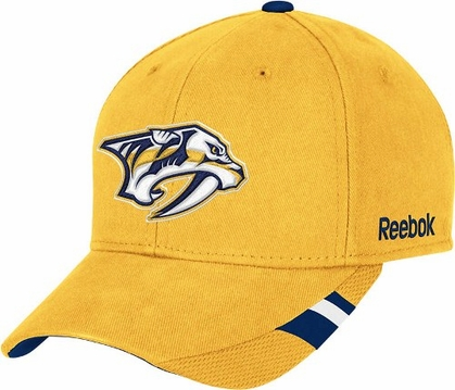 Nashville Predators Structured Adjustable Third Jersey Logo Hat