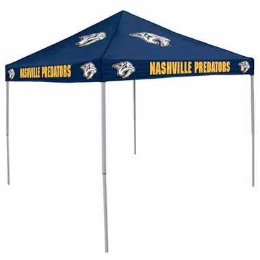 Nashville Predators Team Color Tailgate Tent