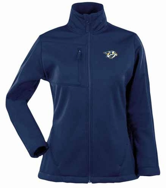 Nashville Predators Womens Traverse Jacket (Team Color: Navy)