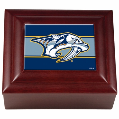 Nashville Predators Wooden Keepsake Box