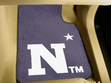Navy 2 Piece Car Mats