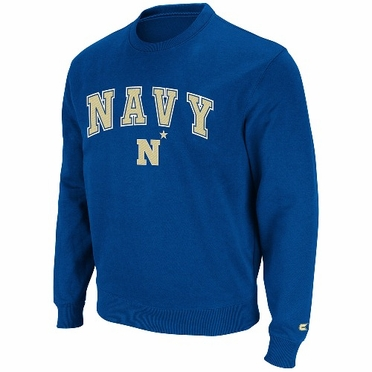 Navy 2011 Automatic Fleece Crew Sweatshirt