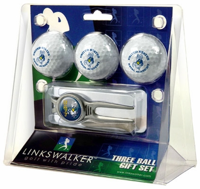Navy 3 Ball Gift Pack With Kool Tool
