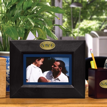 Navy BLACK Landscape Picture Frame