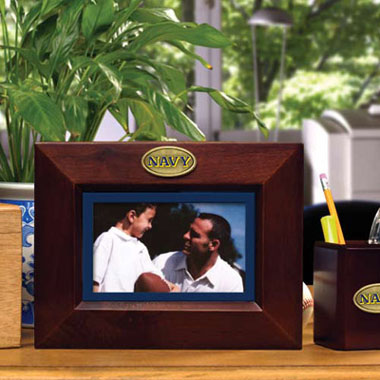 Navy BROWN Landscape Picture Frame