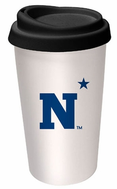 Navy Ceramic Travel Cup