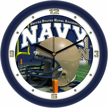Navy Helmet Wall Clock