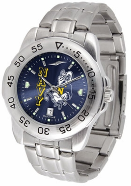 Navy Sport Anonized Men's Steel Band Watch