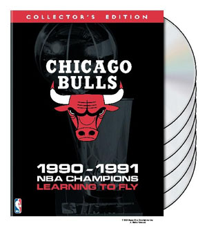 NBA Chicago Bulls 1991 Champions: Learning to Fly DVD