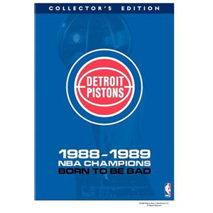 NBA Detroit Pistons 1989 Champions: Born to Be Bad DVD