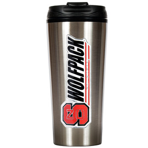 NC State 16 oz. Thermo Travel Tumbler