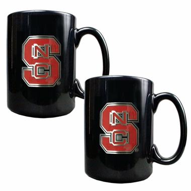 NC State 2 Piece Coffee Mug Set