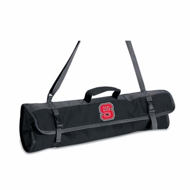 NC State 3 Piece BBQ Tote (Black)