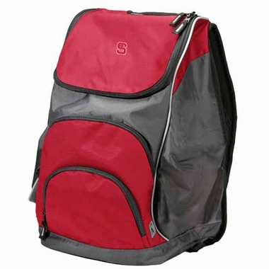 NC State Action Backpack (Color: Red)