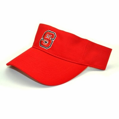 NC State Adjustable Birdie Visor