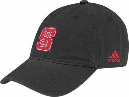 NC State Adjustable Slouch Hat (Black)