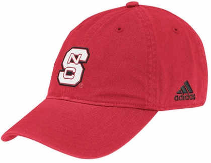 NC State Adjustable Slouch Hat (Red)