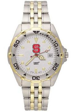 NC State All Star Mens (Steel Band) Watch