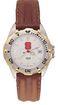NC State All Star Womens (Leather Band) Watch