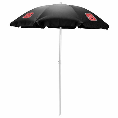 NC State Beach Umbrella (Black)