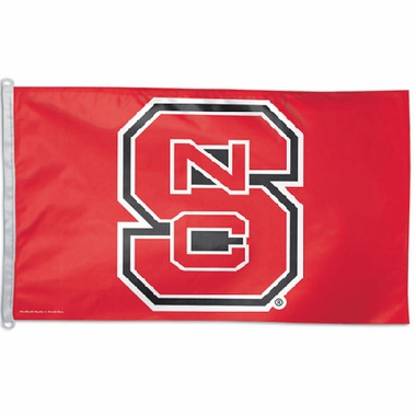 NC State Big 3x5 Flag