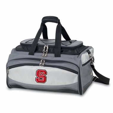 NC State Buccaneer Tailgating Embroidered Cooler (Black)