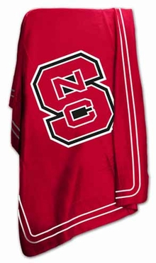 NC State Classic Fleece Throw Blanket