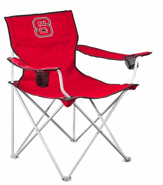 NC State Deluxe Adult Folding Logo Chair