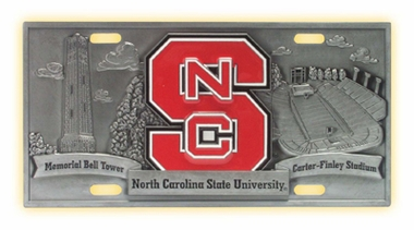 NC State Deluxe Collector's License Plate
