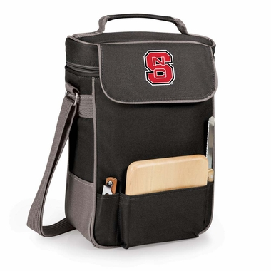 NC State Duet Compact Picnic Tote (Black)