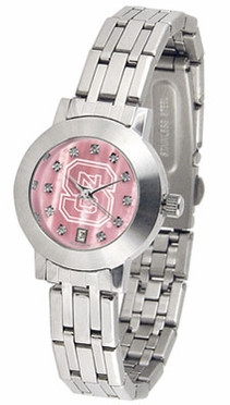 NC State Dynasty Women's Mother of Pearl Watch