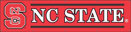 NC State Eight Foot Banner