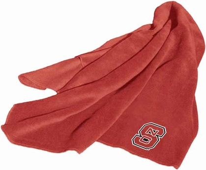 NC State Fleece Throw Blanket