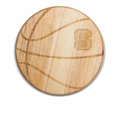NC State Free Throw Cutting Board