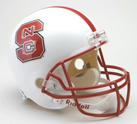 NC State Full Sized Replica Helmet