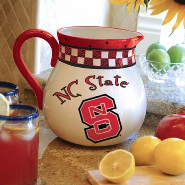 NC State Gameday Ceramic Pitcher
