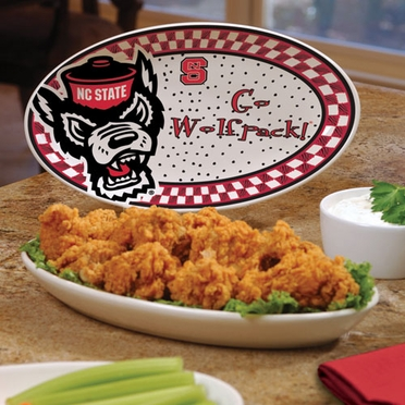 NC State Gameday Ceramic Platter