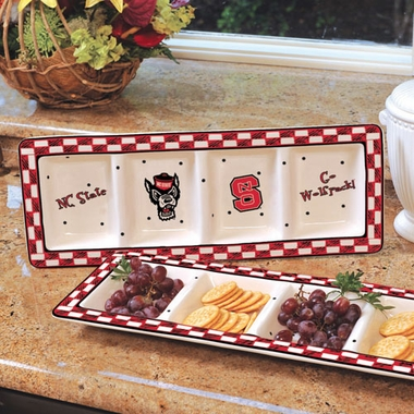 NC State Gameday Relish Tray