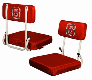 NC State Hard Back Stadium Seat