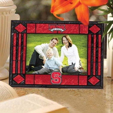 NC State Landscape Art Glass Picture Frame
