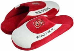 NC State Low Pro Scuff Slippers - Large