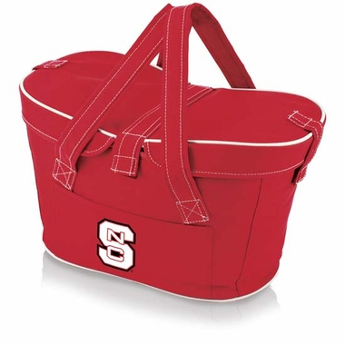 NC State Mercado Picnic Basket (Red)